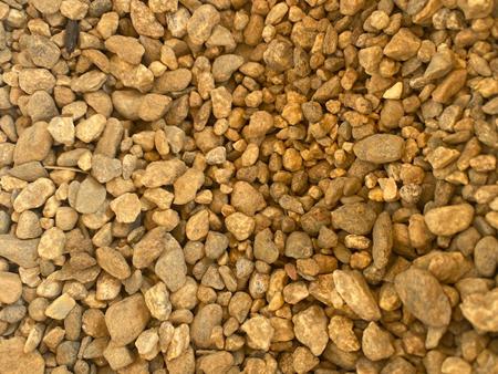 3.8 round brown stone