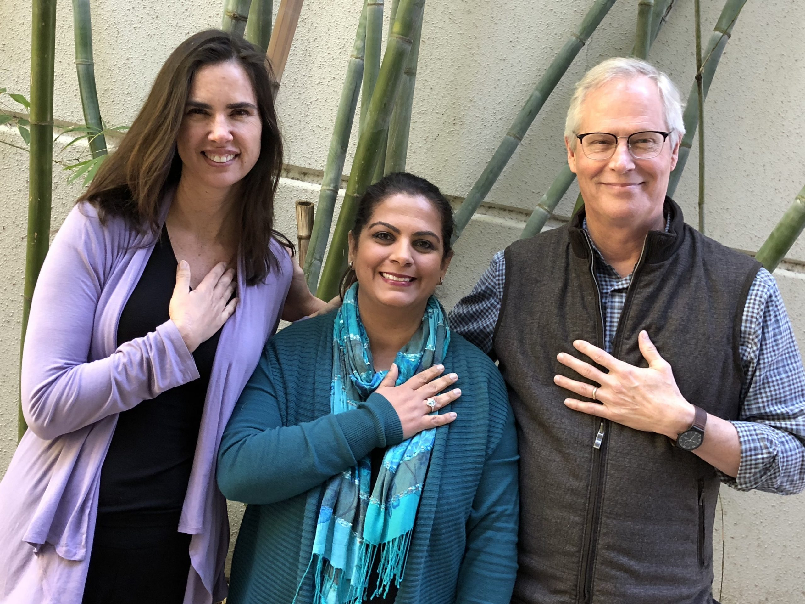 Laila with MSC co-creators