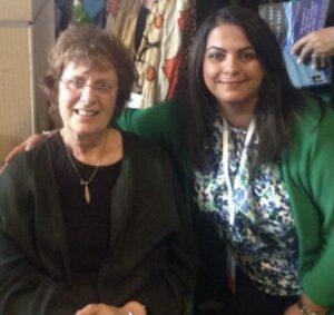 Laila Narsi with Francine Shapiro