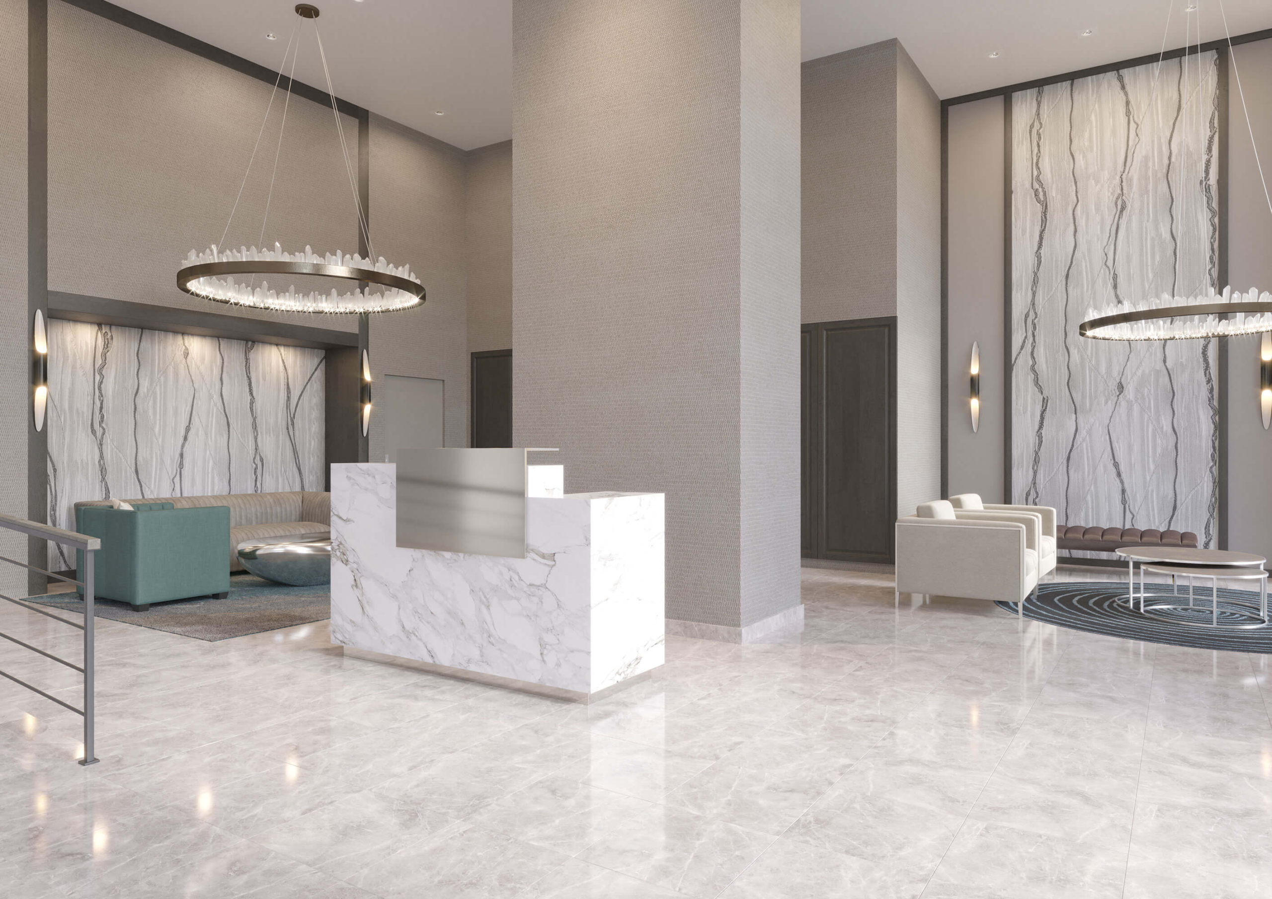 Queens Lobby Design