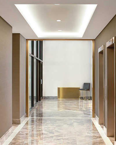 New York Hallway & Lobby Design