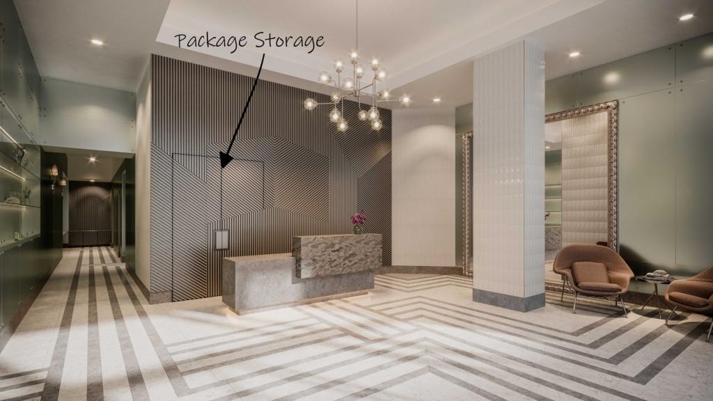 Sutton Place Interior Design Storage Solutions