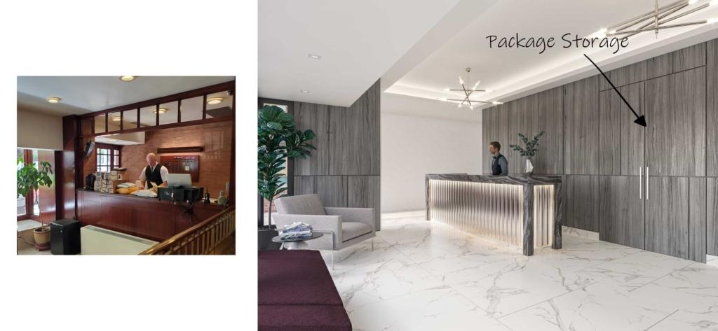 Co-op Interior Package Closet Design