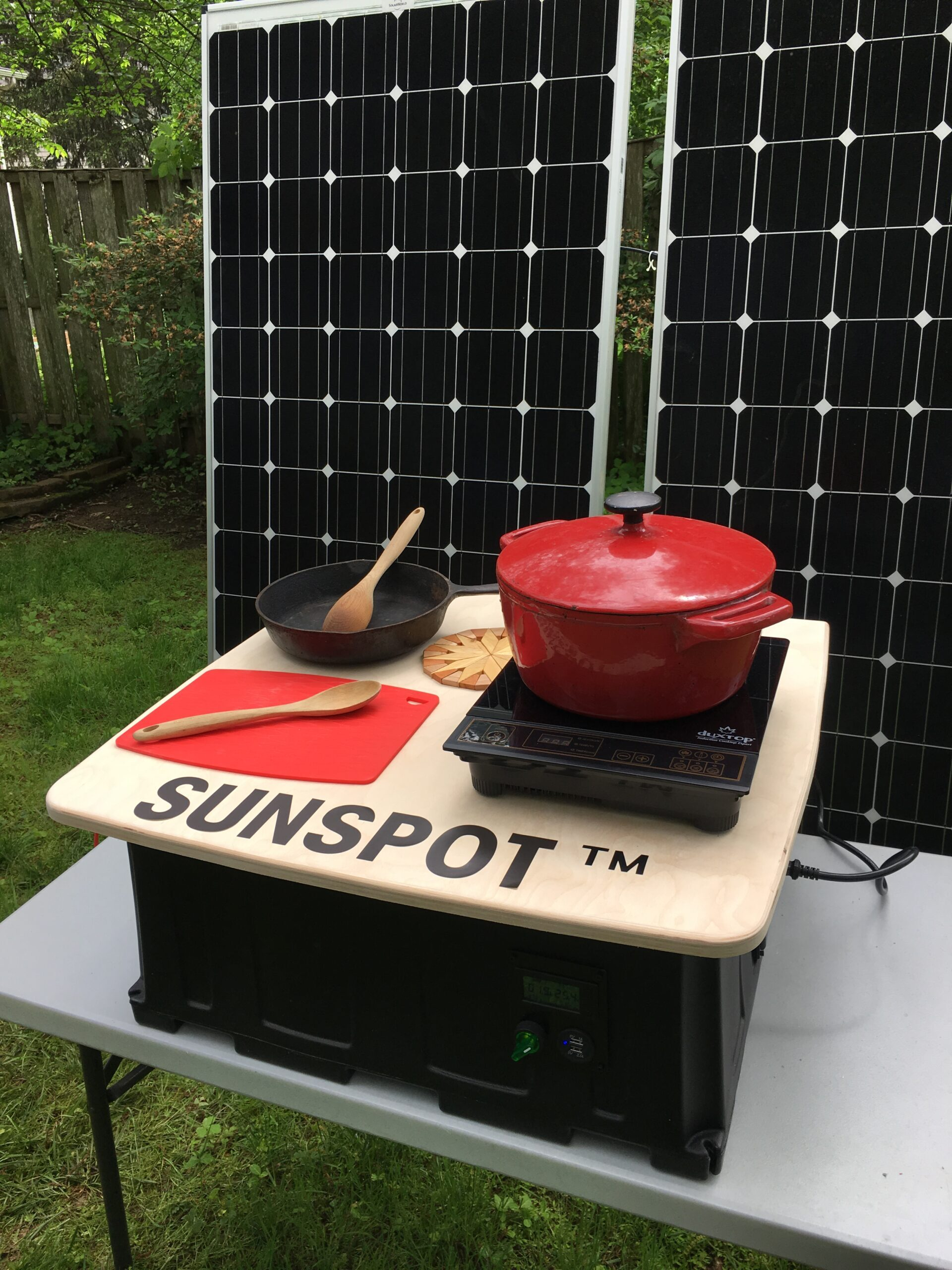 SUNSPOT system is a cost-effective replacement for biomass cookstoves