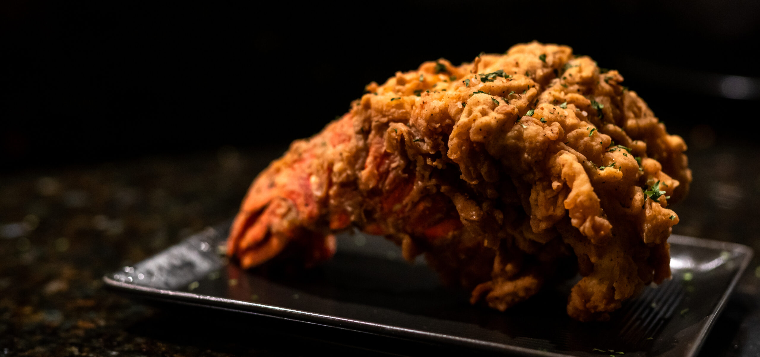 Fried Lobster Tail