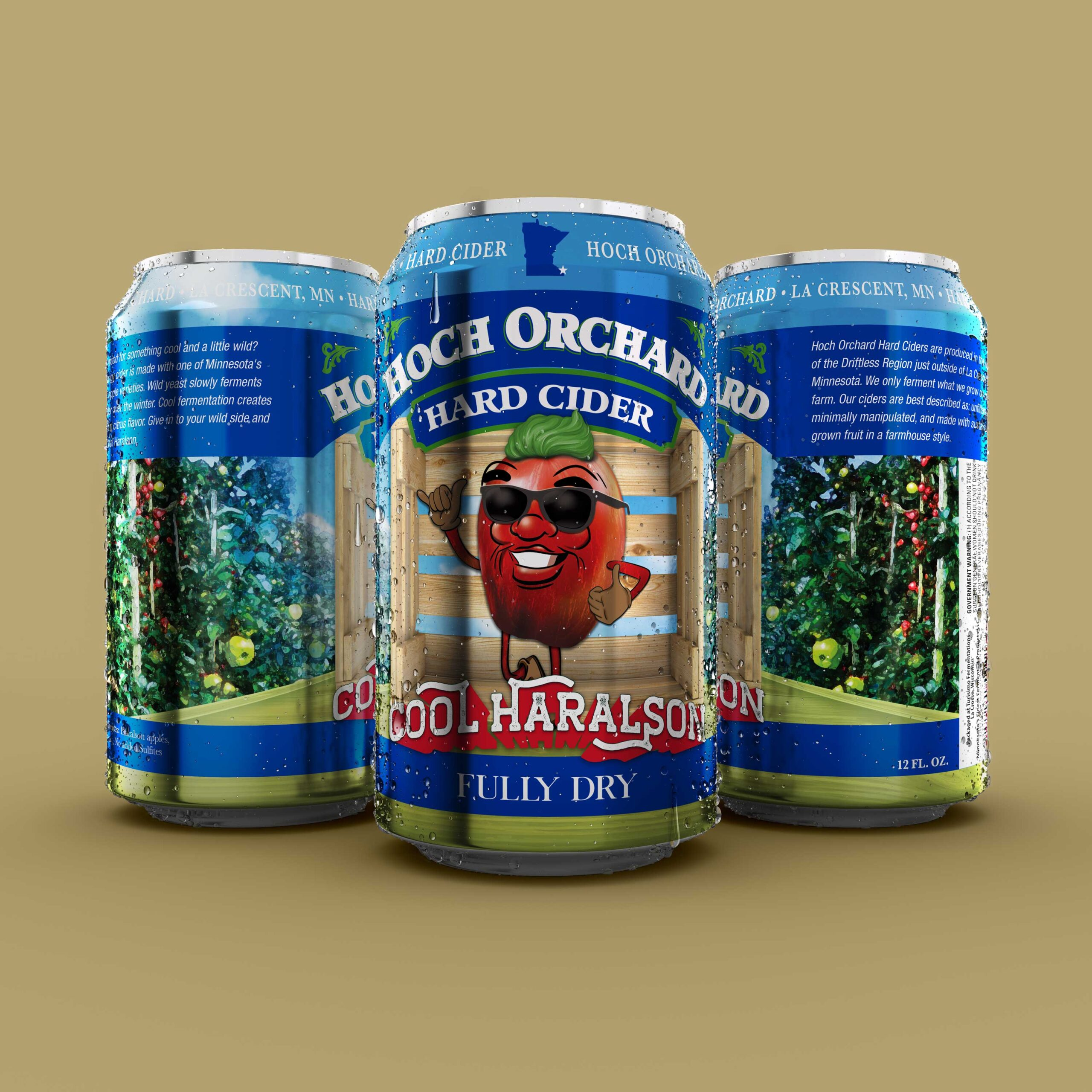 Turisimo Fermentations Releasing Hoch Orchards Cool Haralson Hard Cider in Cans