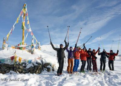 Ski-touring the Altai Mountains of China