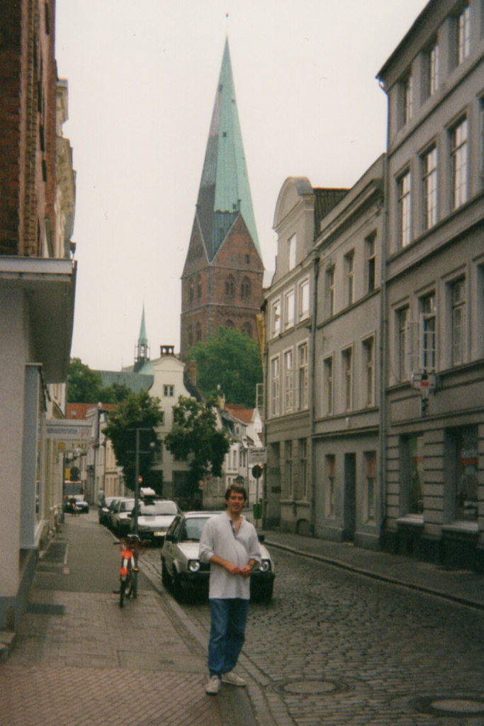 Walking the streets of Lübeck