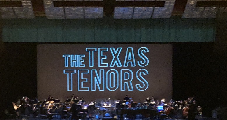 The Texas Tenors with Orchestra Kentucky with Maestro Jeff Reid conducting
