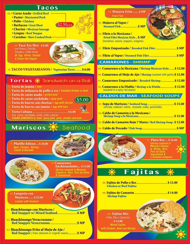 Crazy Burrito Menu Page 4