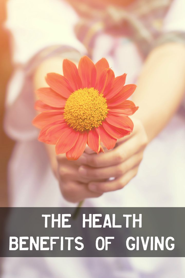 The Health Benefits of Giving ~
