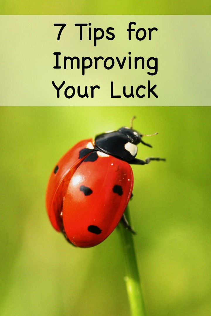 7 Tips for Improving Your Luck ~