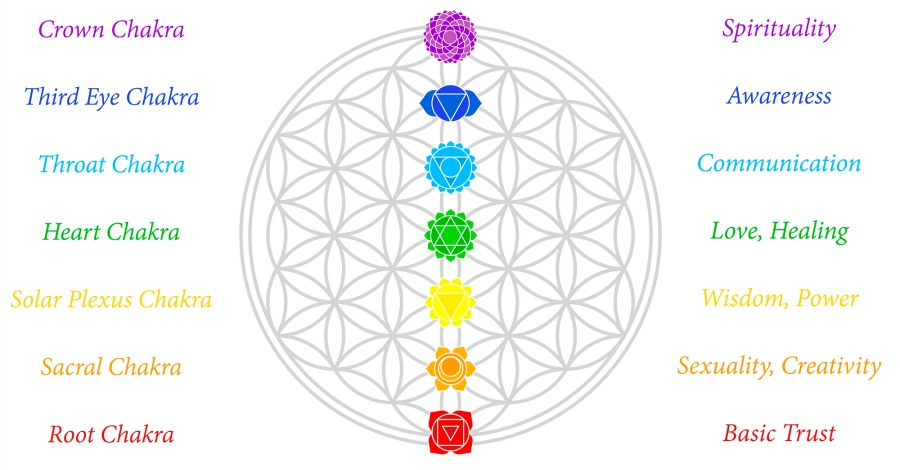 What Your 7 Chakras Say About Your Happiness