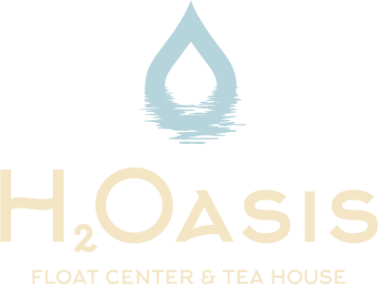 H2Oasis Float Center and Tea House Logo