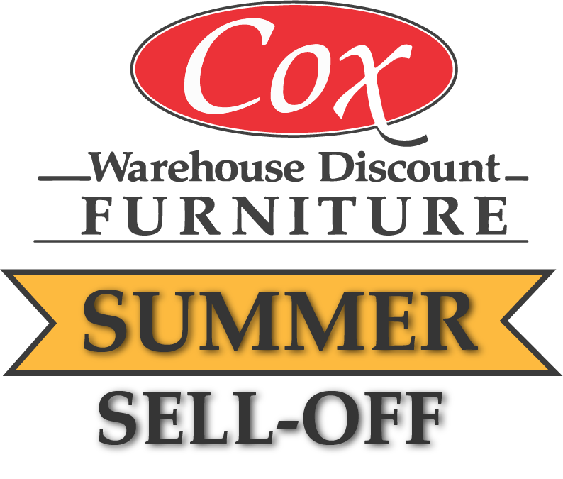 Cox Furniture Summer Sell-Off Logo designed by Pioneer Strategies