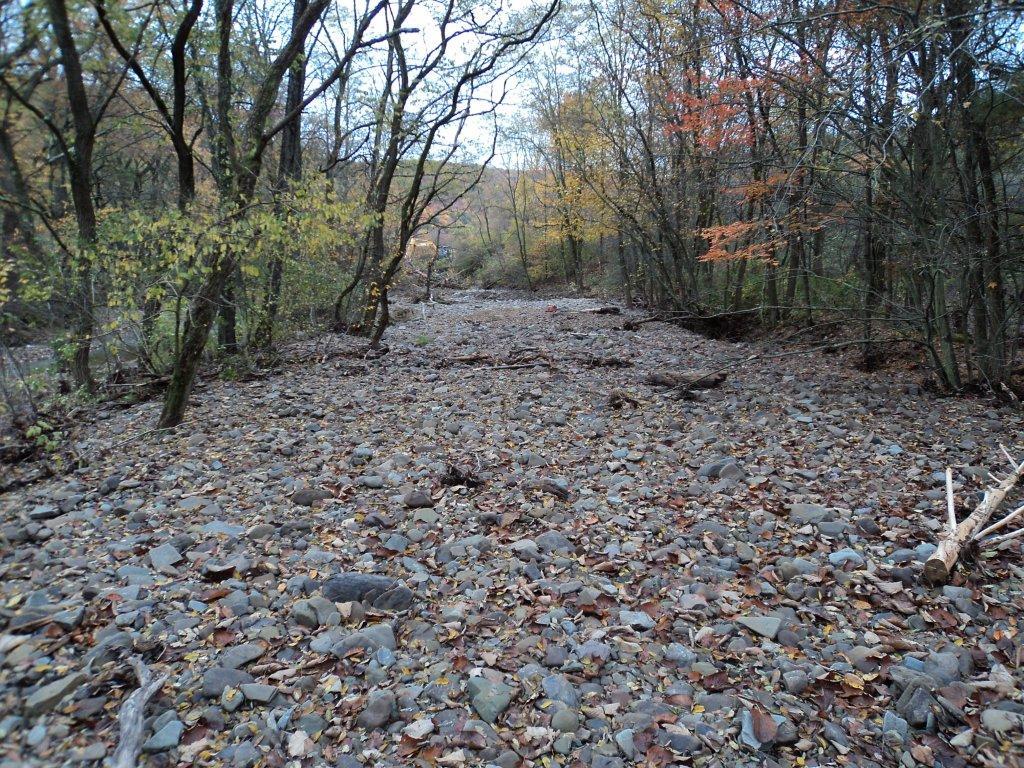 Creek Restoration after Flooding