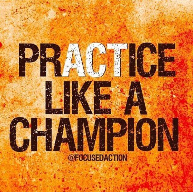 Act Like a Champion