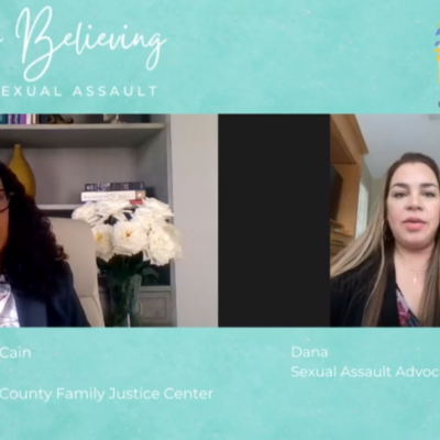 Start By Believing: Surviving Sexual Assault | Dana's Story