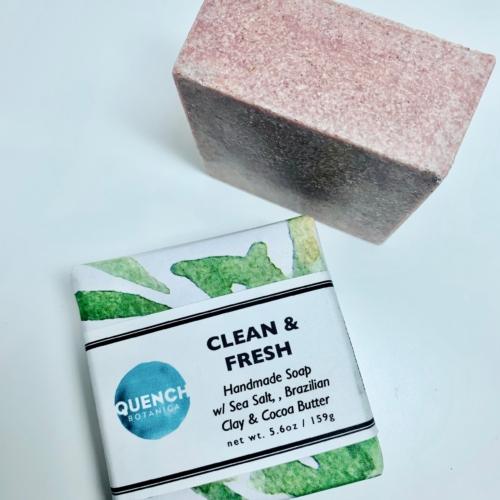 Clean & Fresh Salt Soap