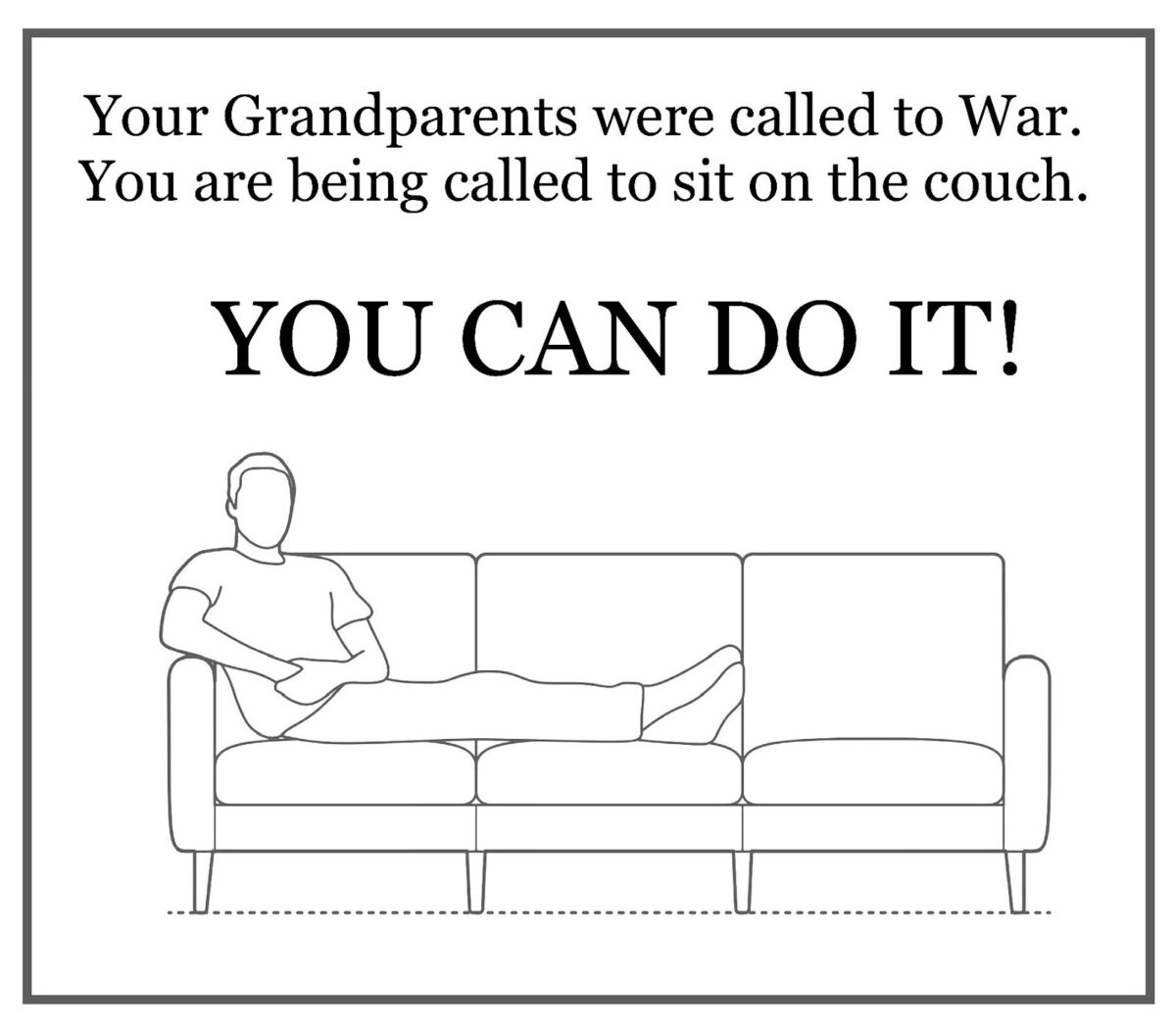 Quarantine Couch