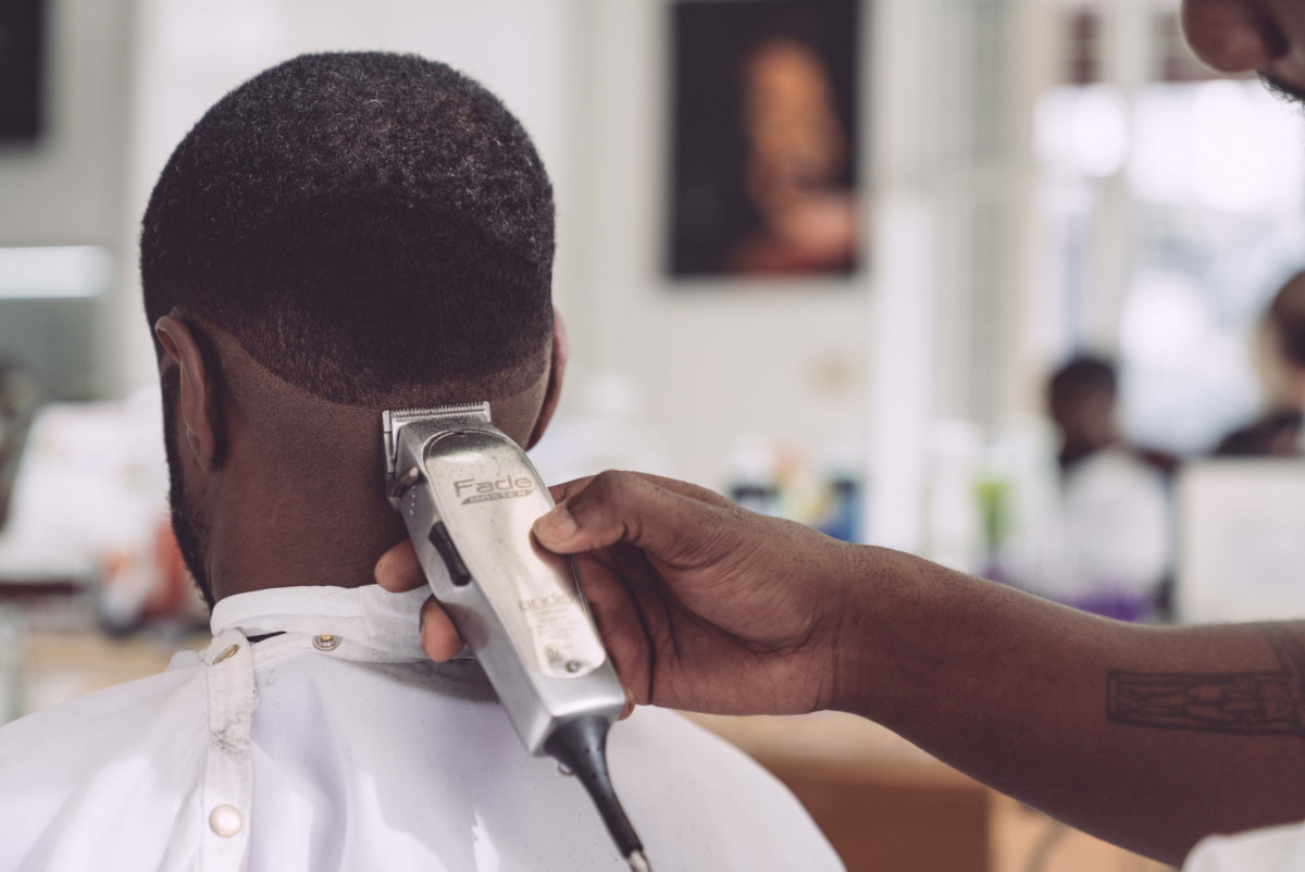 Barbershops and salons reopen in Georgia. Photo by Edgar Chaparro on Unsplash..