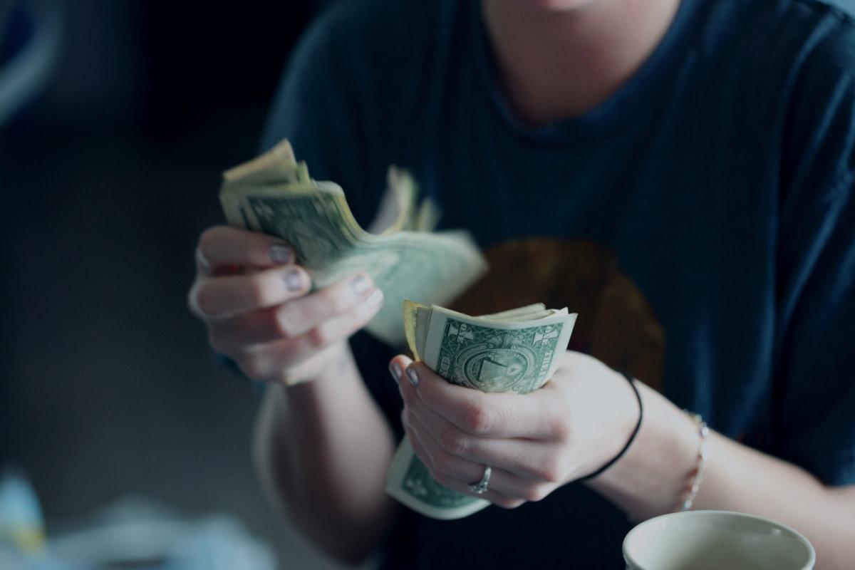 Preppers should use cash, photo by Sharon McCutcheon via Unsplash.