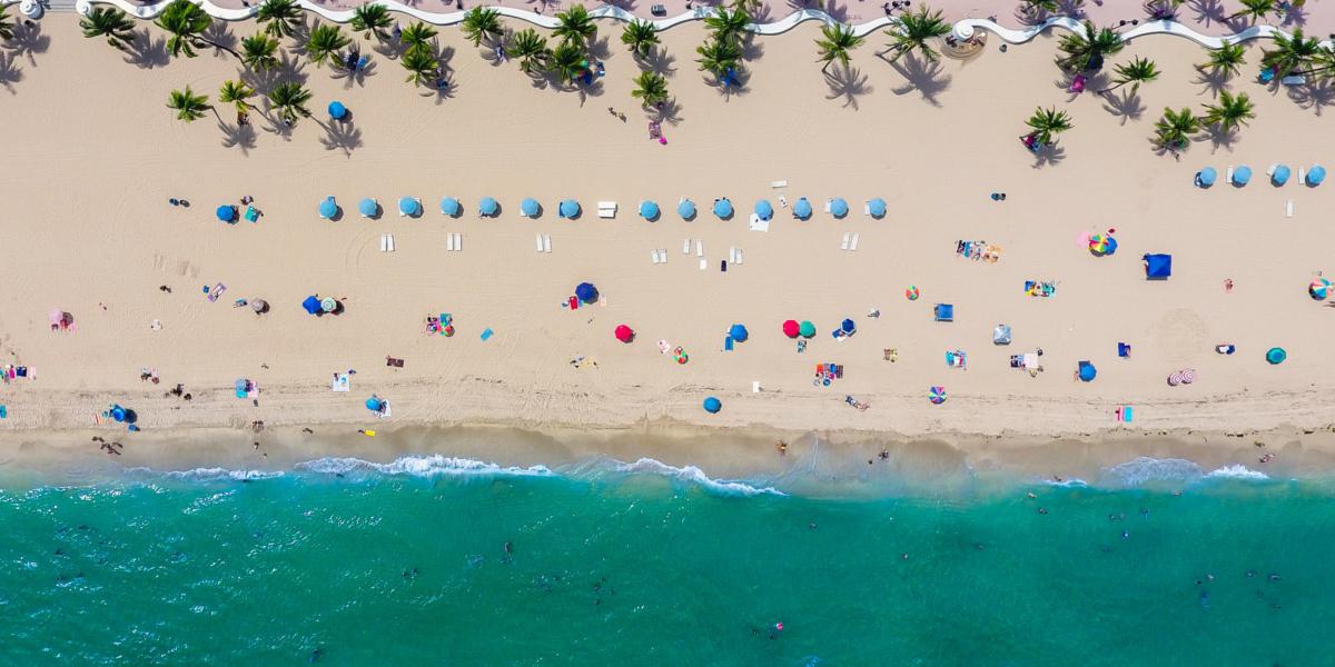 a Florida beach