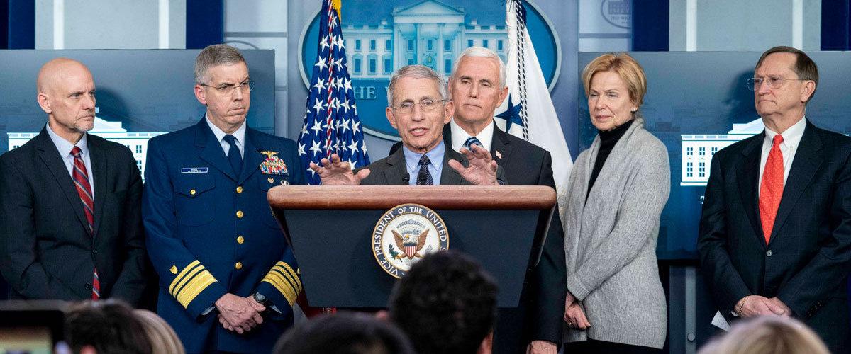Coronavirus task force press briefing