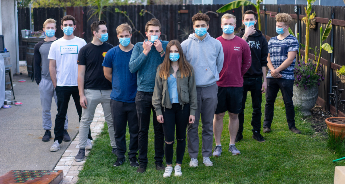 10 teens wearing masks. Photo by Clayton Cardinalli on Unsplash