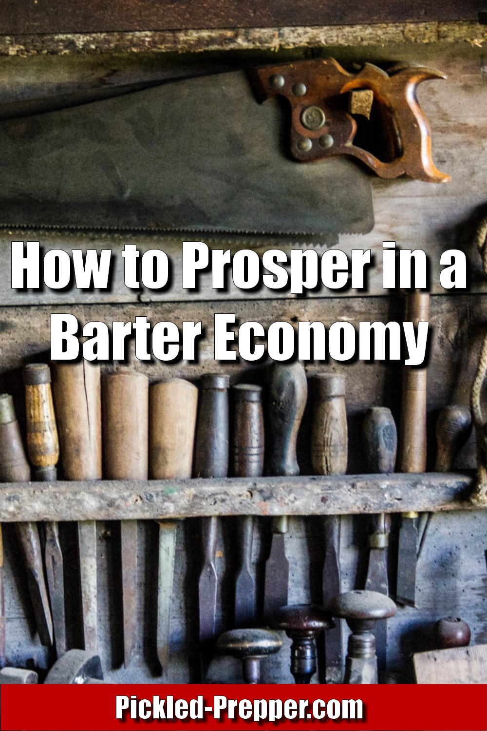 How to Prosper in a Barter Economy