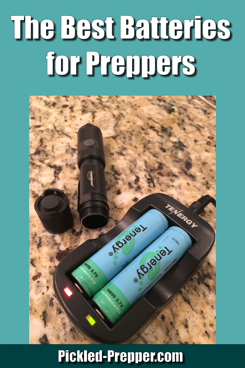 The Best Batteries for Preppers