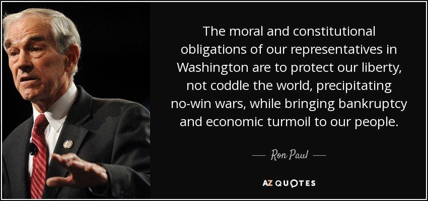 Ron Paul Quote