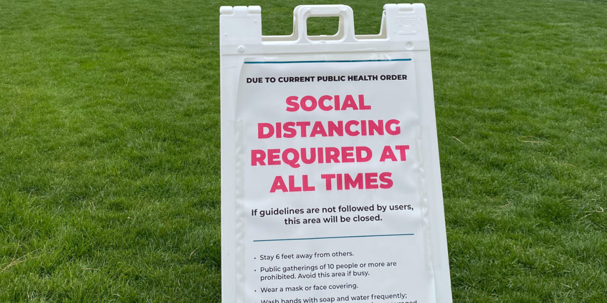 Social distancing required, Photo by craig hellier on Unsplash