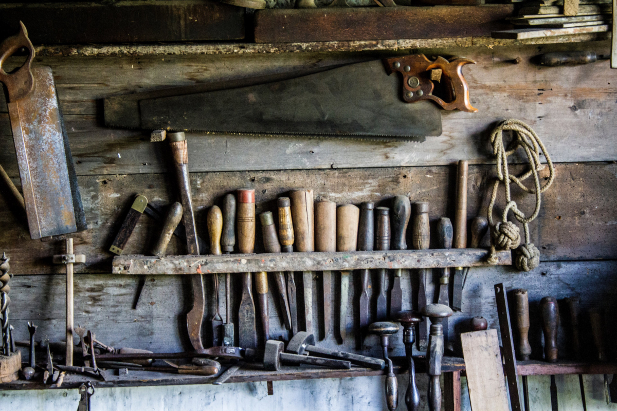 Woodworking and carpentry tools