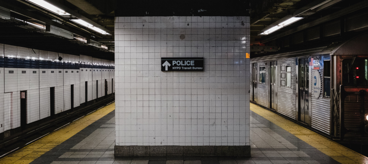 An empty New York subway and platform. Photo by Billy Williams on Unsplash