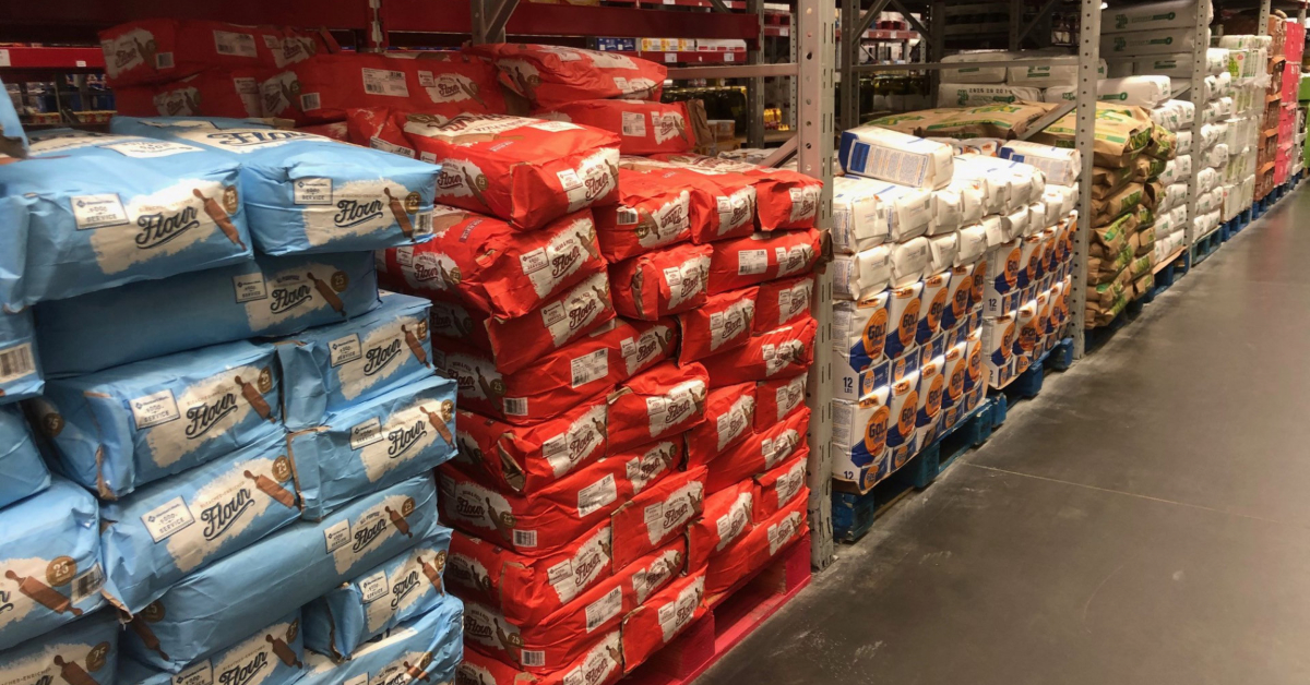 2-pound bags of four at Sam's Club