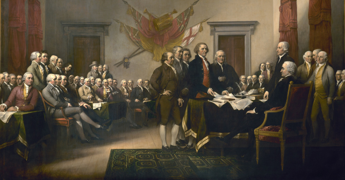 Singing the Declaration of Independence