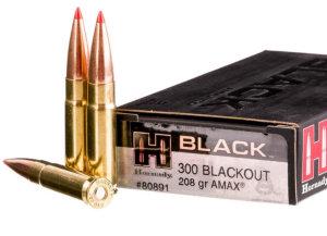 The 208 grain Hornady Black load uses an A-MAX bullet.