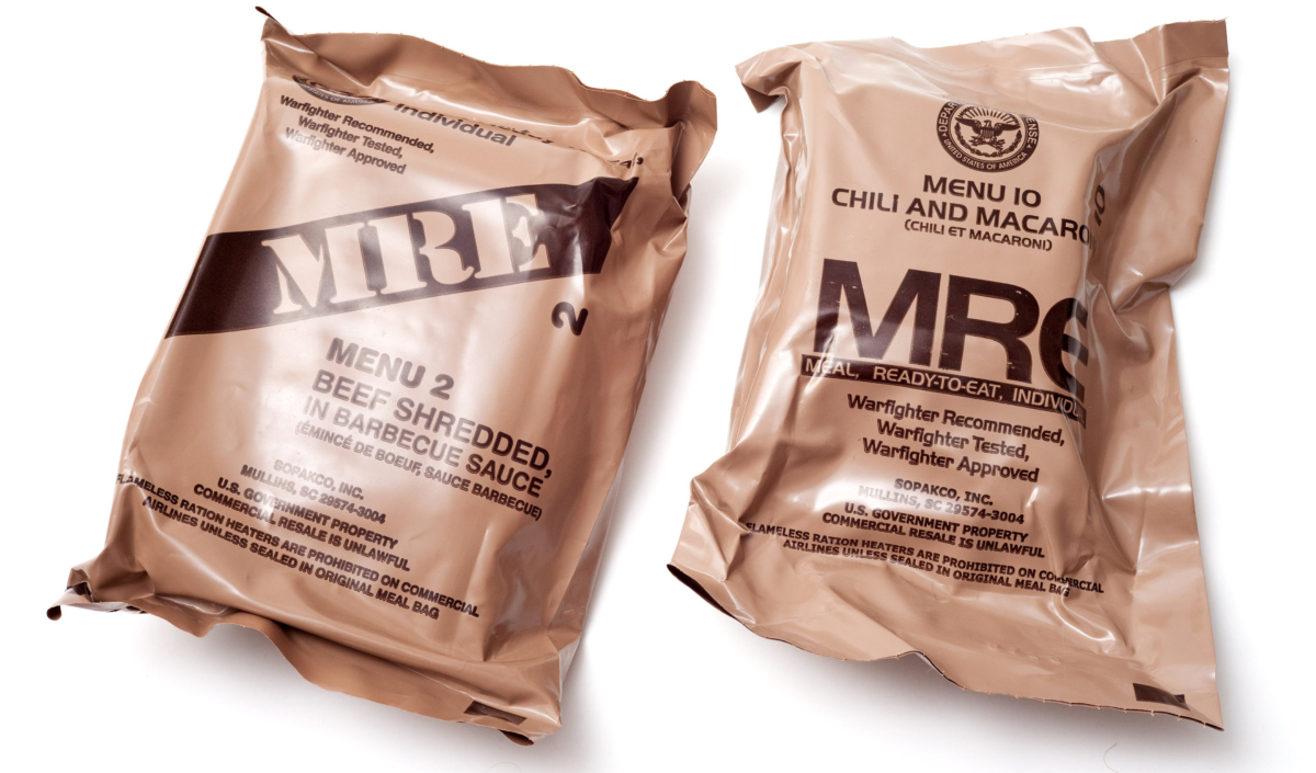 Two MRE [ouches