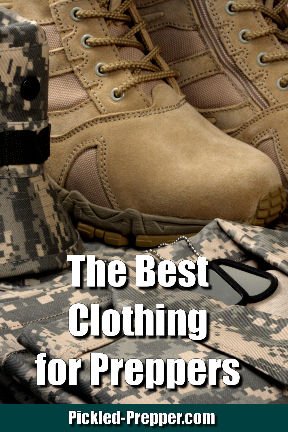 October 3: The Best Clothing for Preppers