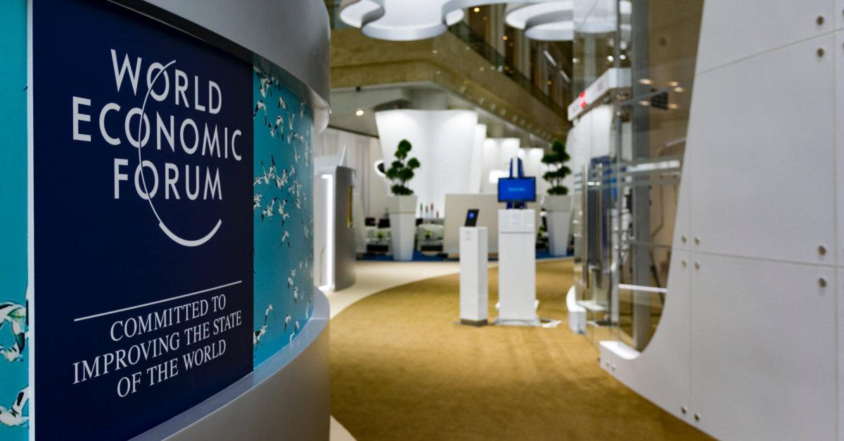 World Economic Forum logo. Photo by Evangeline Shaw on Unsplash.