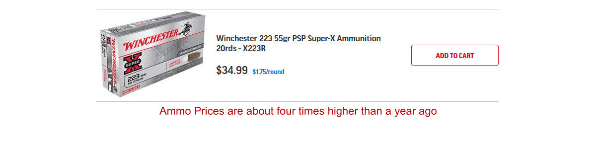 High priced ammo