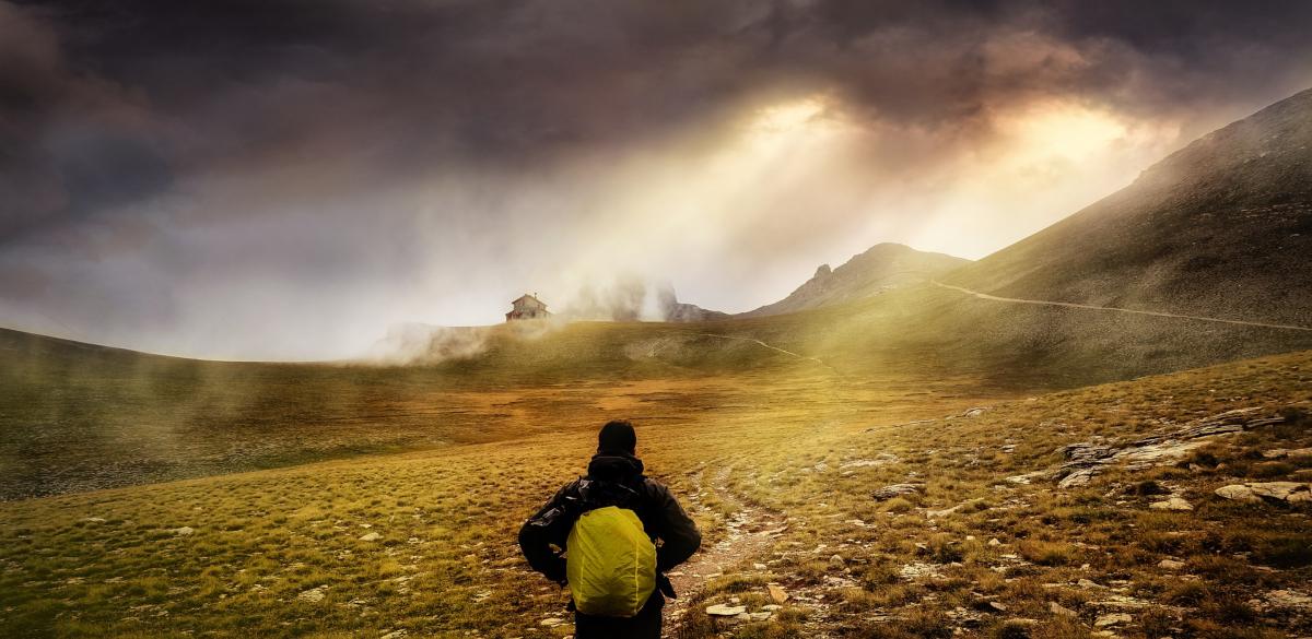 Alone in the wilderness. Image by Aristeidis Tsitiridis from Pixabay.