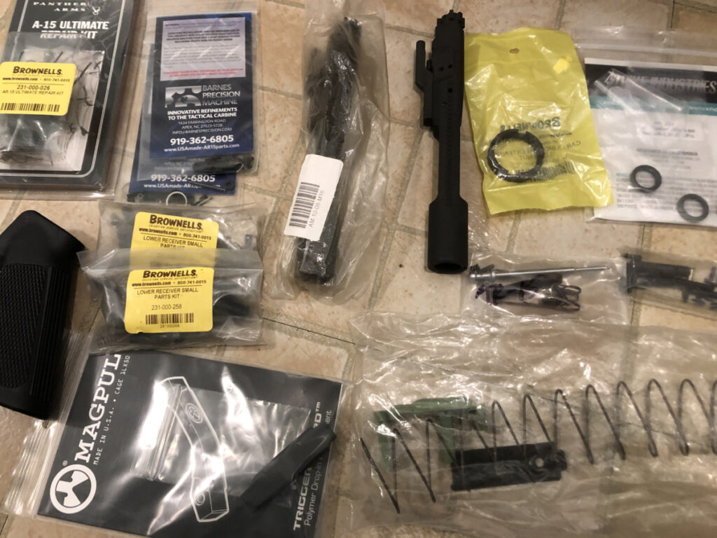 spare parts for the AR-15