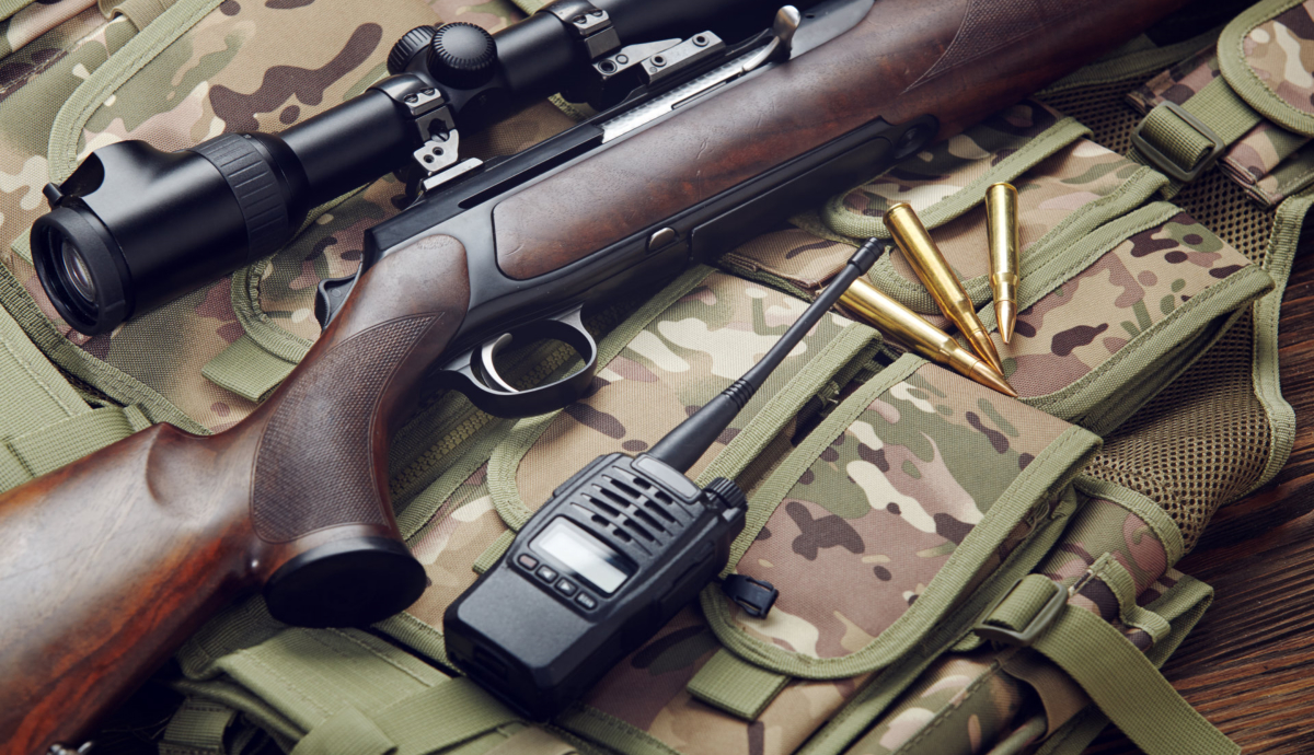 hunting rifle. Photo from BigStock.