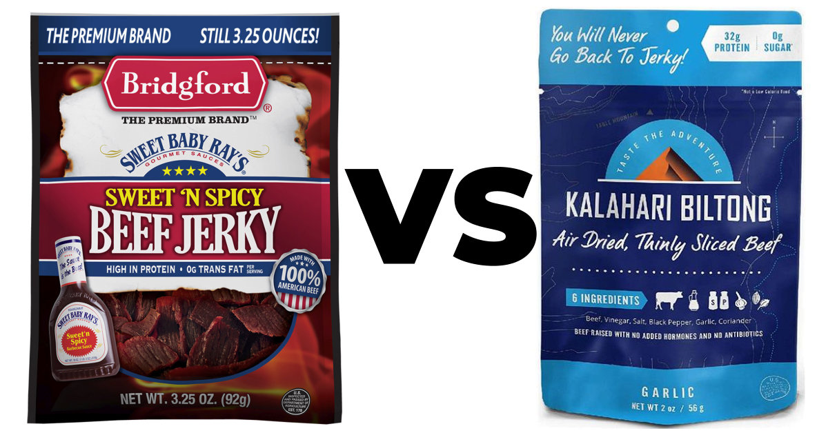 Product Review: What's Better, Beef Jerky or Biltong?