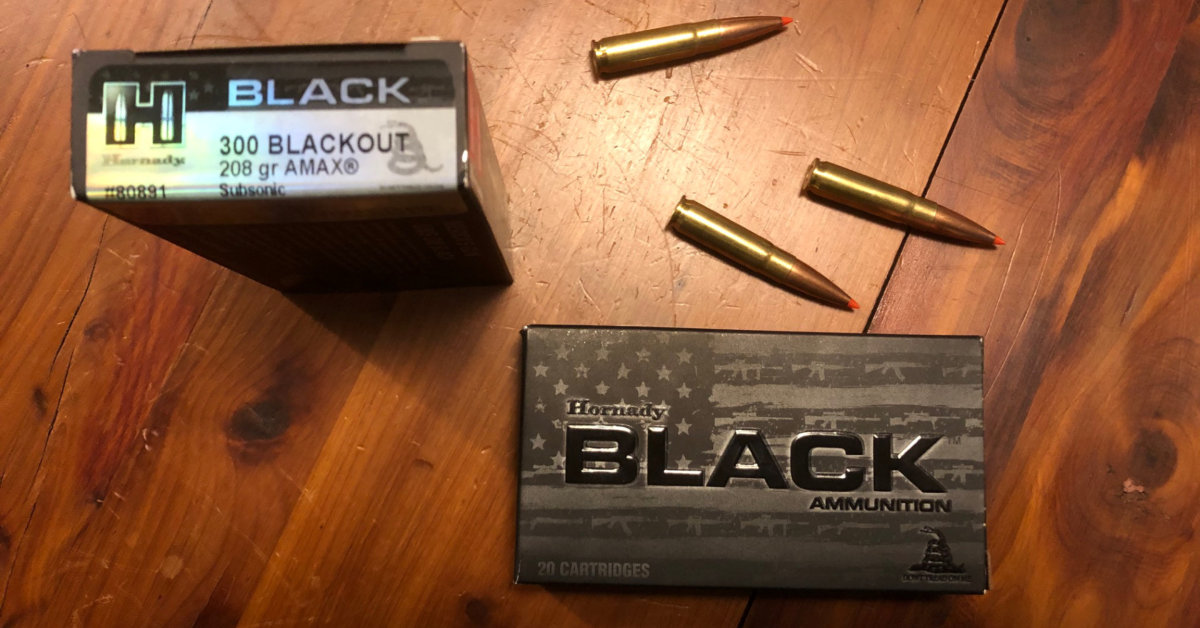 Subsonic .300 Blackout ammo