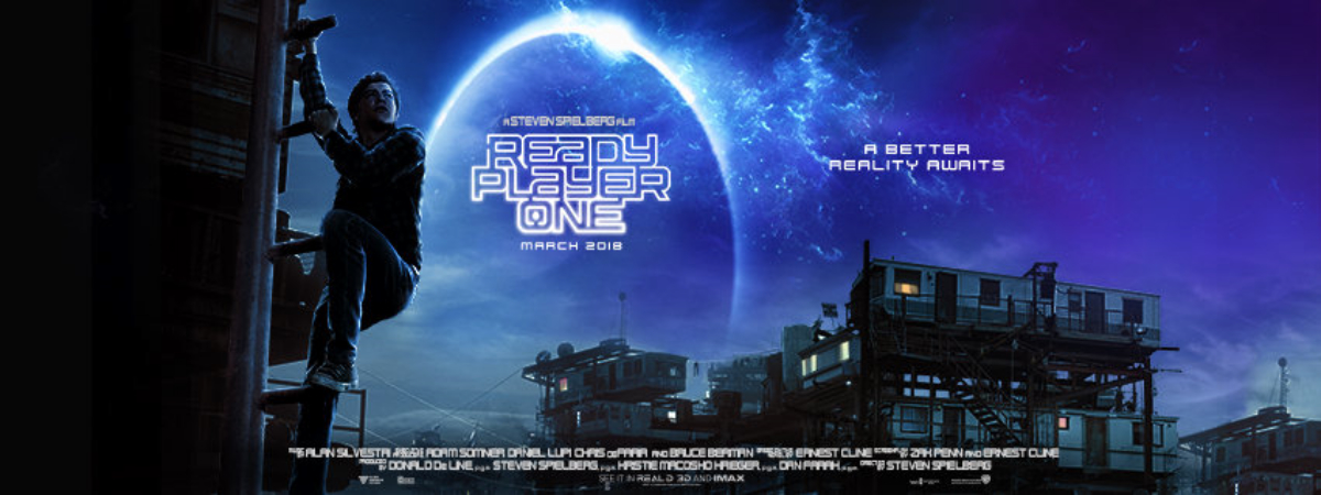 Ready Player One promotional image