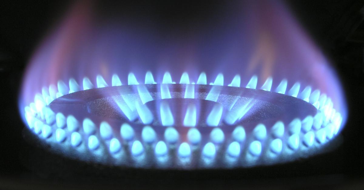 A gas burner