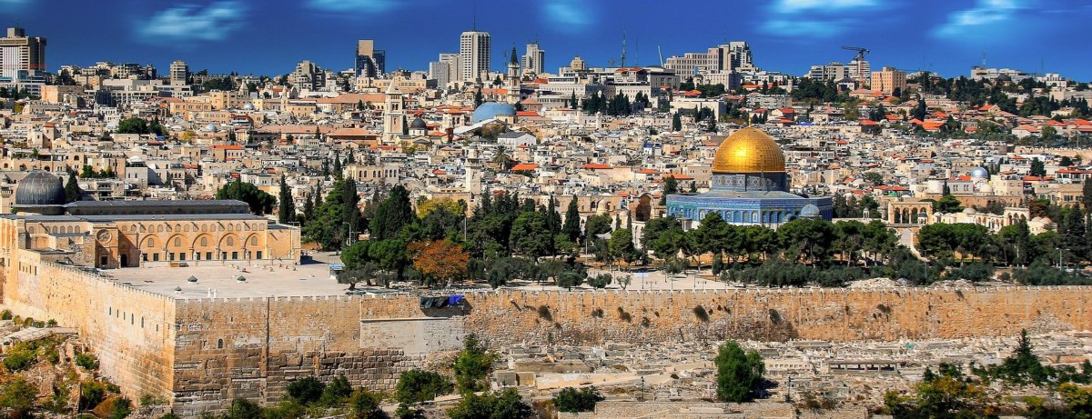 Jerusalem in Israel. Image by Walkerssk from Pixabay.